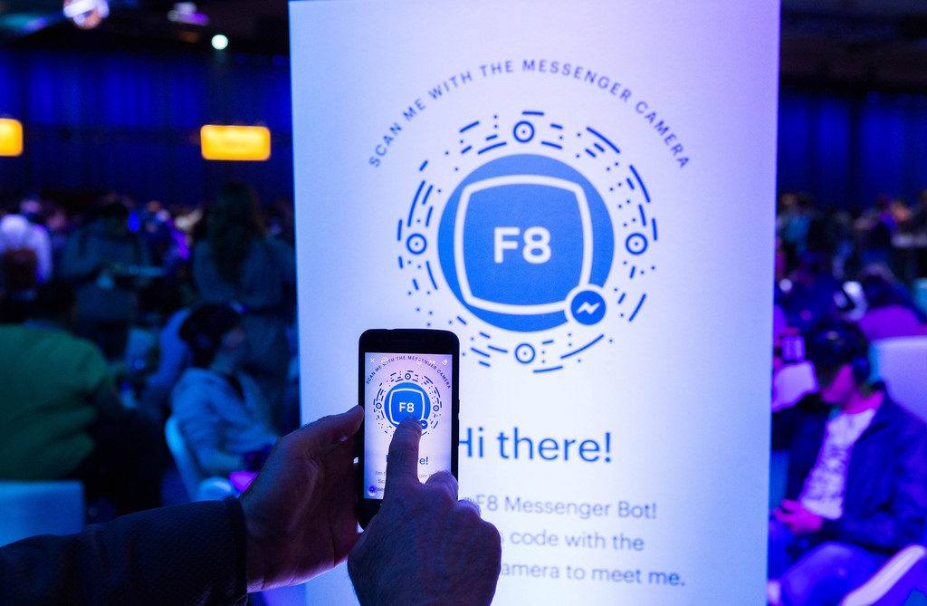 facebook chatbot messenger scan code